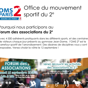 FORUM DES ASSOCIATIONS DU 2e